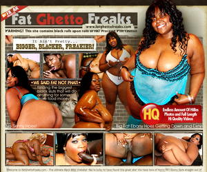 Fat Ghetto Freaks - The Best Black BBW Site!