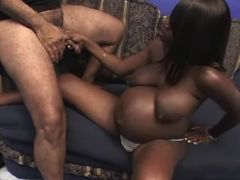Pregnant ebony sucks cock on sofa bbw mpegs
