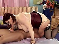 Chubby lady with large boobs fucked bbw mpegs