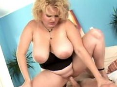 Blonde fatty rides cock n sucks him bbw mpegs
