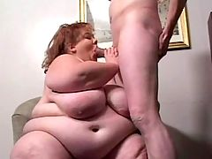 Wild sex with great BBW