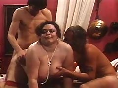 Two studs share elephant size woman bbw mpegs