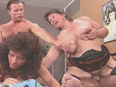 Busty mature in group sex on bed bbw mpegs