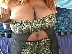 Ebony fat mom shows her greasy body bbw mpegs