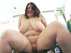 Chesty horny fatty eats tasty sperm bbw mpegs