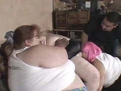 Obese women have fun in groupsex bbw mpegs