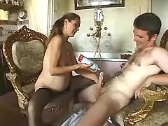 Horny pregnant milf licks out cream bbw mpegs