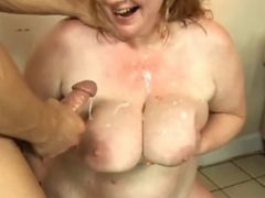Chubby mature gets double cumload bbw mpegs