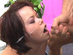 Teen plumper gets cumload on face bbw mpegs