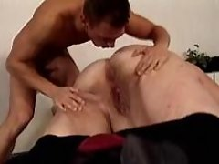 Dude screws gigantic paunchy woman bbw mpegs