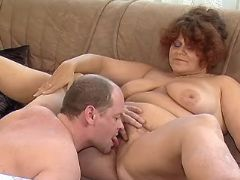 Redhead mature BBW licked by man bbw mpegs