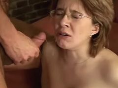 Pregnant cutie gets cum after fuck bbw mpegs