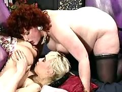 Curly preggo relaxes in lesbo orgy bbw mpegs