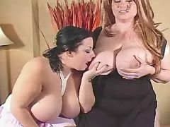 Chubby lesbians play with huge tits bbw mpegs