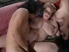 Busty chubby moms and man in orgy bbw mpegs