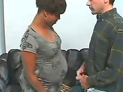 Pregnant ebony sucks big white cock bbw mpegs