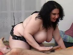 Fat cutie throats appetizing cock bbw mpegs