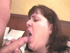 Mature fatty fucked and gets cum bbw mpegs