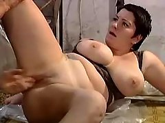 Fatty jumping on cock in warehouse bbw mpegs