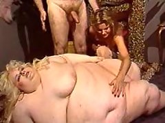 Huge lusty woman gets cum on belly bbw mpegs