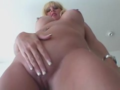 Fat blonde solo with dildo at sofa bbw mpegs