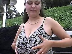 Busty fatty blows hard dick outdoor bbw mpegs