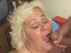 Mature fatty gets cumload in mouth bbw mpegs
