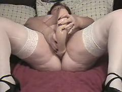 Chubby mature prefers huge dildo bbw mpegs