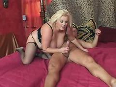 Chubby vixen slurps cum after fucks bbw mpegs