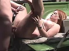 Innocent busty fatty in gang bang on bed bbw mpegs