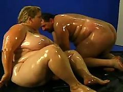 Blonde Chubby lady enjoys oral sex with friend bbw mpegs