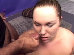 Lewd chubby whore gets cum in mouth bbw mpegs