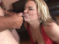 Fat blonde mature gets cum on face bbw mpegs