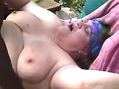 Enormous fat lady with big boobs satisfy lucky men bbw mpegs