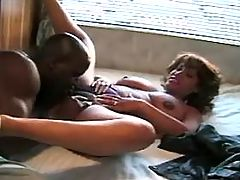 Sensual plump mummy fucking with old in pool