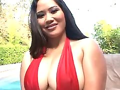 Hot asian girl present massive tits bbw mpegs