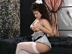 Lonely pregnant cutie plays in bed bbw mpegs