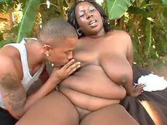 Black fatty spoils chocolate friend bbw mpegs