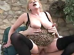Breasty plump honey blows hard dick on sofa bbw mpegs