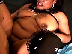 Big ebony prostitute satisfies men on sofa bbw mpegs