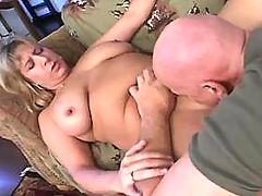 Ebony Chubby lady enjoys hard sex with friend bbw mpegs
