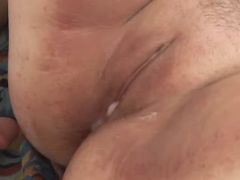 Chubby whore gets fuck and creampie bbw mpegs