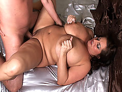Big Maria fucks big cock while squeezing nips bbw mpegs