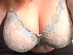 Blonde plumper shakes her tits at you bbw mpegs