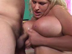 Blonde plumper titsfucks and sucks bbw mpegs