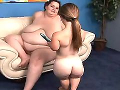 Busty mature BBW in group sex with horny dude bbw mpegs