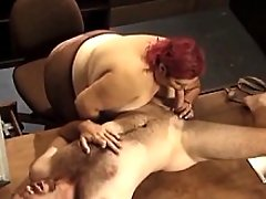 Redhead fat housewife deep swallowing cock bbw mpegs